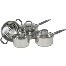 4 Piece Argon Stainless Steel Cookware Set