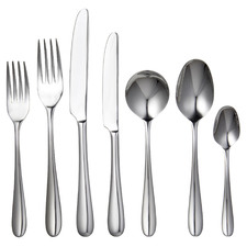 56 Piece Silver Imperial Stainless Steel Cutlery Set