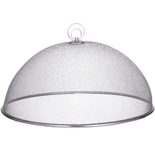 Silver Mesh Round Food Cover