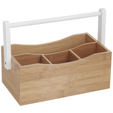 Bamboo Kitchen Caddy with Handle