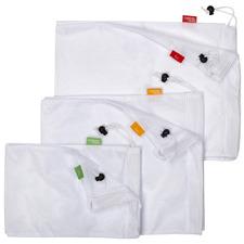 6 Piece Reusable Produce Bag Set