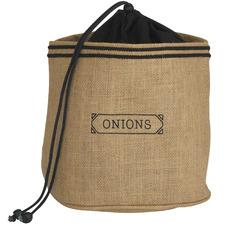 Brown Jute & Cotton Onion Sack