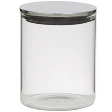 800ml Glass Canister with Lid