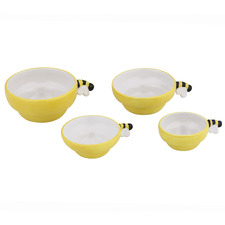 4 Piece Beehive Measuring Cups Set