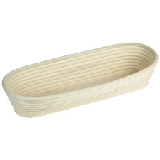 Oval Rattan Proving Basket