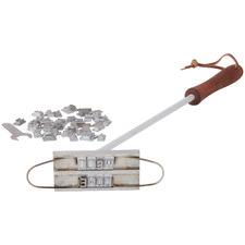 56 Piece Customisable Stainless Steel BBQ Branding Iron Set