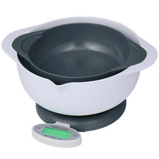 3 Piece Leto Kitchen Scale & Mixing Bowl Set