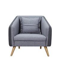 Oslo Grey Armchair