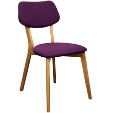 Purple Jelly Bean Chair (Set of 2)