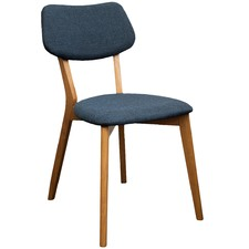 Storm Blue Jelly Bean Chair (Set of 2)