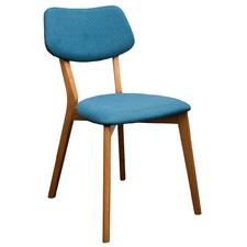 Teal Jelly Bean Chair (Set of 2)
