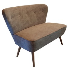 Beige 2 Seater Atom Chair