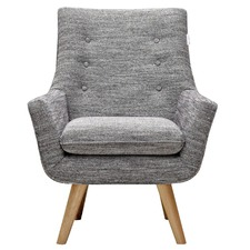 Dark Grey Como Armchair