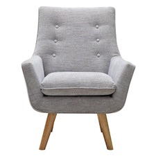 Light Grey Como Armchair