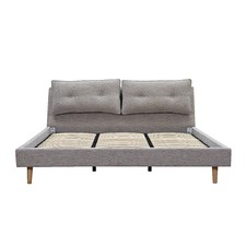 King Size Grey Veronica Bed