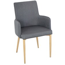 Grey Corporate Chair (Set of 2)