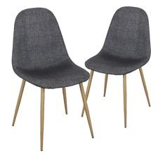 Dark Grey Marko Chair (Set of 2)