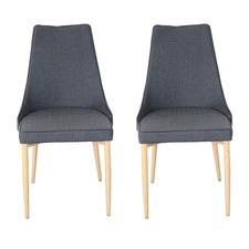 Charcoal Martin Chair (Set of 2)