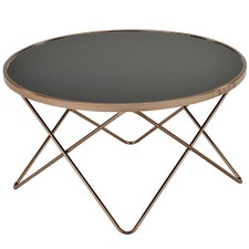 Champagne Metal Coffee Table