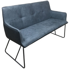 Charcoal Ideal Faux Suede Sofa