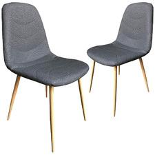 Tom Scandinavian Dining Chairs (Set of 2)