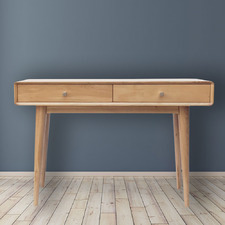 Natural Niche Console Table