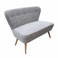 Taupe 2 Seater Atom Chair