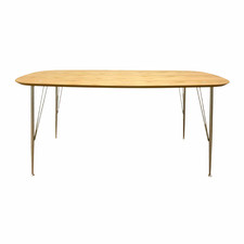 Godwin Industrial Mid-Century Style Dining Table
