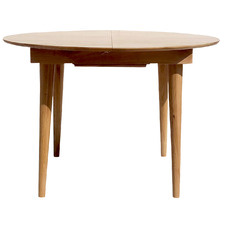 Niche Oak Wood Extendable Dining Table