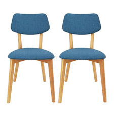 Island Izzy Cotton-Blend Chairs (Set of 2)