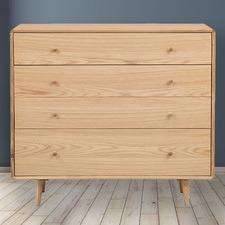 Niche Oak Wood Chest of Drawers