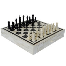 Tibbetts Inlayed Chess Board