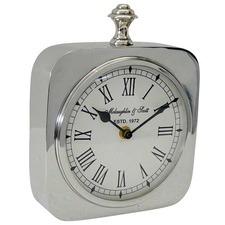 Silver Bergen Mantel Clock
