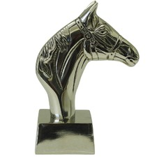 Silver Kingston Horse Bookend (Set of 2)