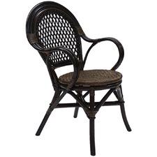 Samara Woven Seat Chairs (Set of 2)