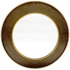 Magnus Round Metal Mirror