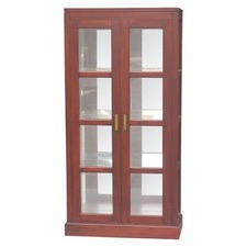 Milan Mirror Back Display Cabinet