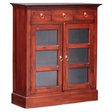 3 Drawer Small Display Cabinet