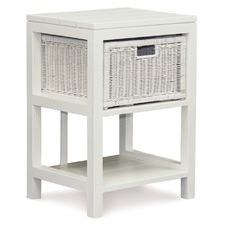 1 Drawer Rattan Lamp Table