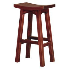 Wooden Kitchen Barstool