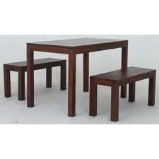 Belgium 3 Piece Dining Table Set