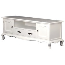 2 Door 2 Drawer French Entertainment Unit
