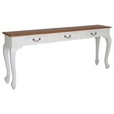 Farmhouse 3 Drawer Sofa Table