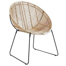 Natural Rattan Leisure Chair