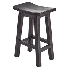 Kobe Nikko Wooden Kitchen Barstool