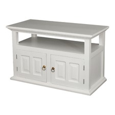 White Tasmania 2 Door TV Stand