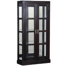Milan Mirror Back Display Cabinet