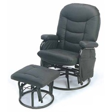 Carson Rocker Chair with Footstool