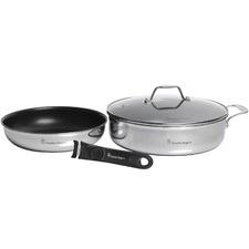 2 Piece Removable Handle Saute & Frypan Set