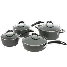 4 Piece Heritage Advanced Stainless Steel Cookware Set